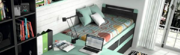 7 ideas para decorar habitaciones juveniles for Muebles juveniles sevilla