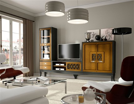 salones. Black Bedroom Furniture Sets. Home Design Ideas
