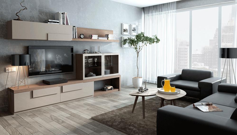 Sal n moderno for Salones modernos precios
